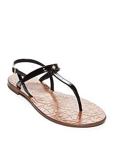 kate spade new york Citrine T-Strap Sandals
