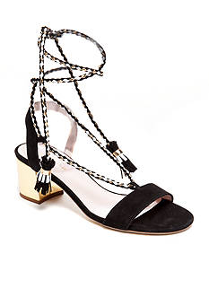 kate spade new york Manor Tie Heel Sandal - Available in Extended Sizes