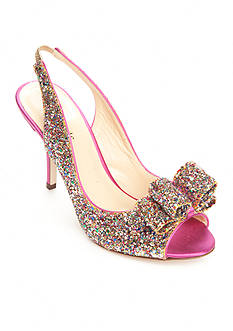 kate spade new york Charm Glitter Pump- Available in Extended Sizes