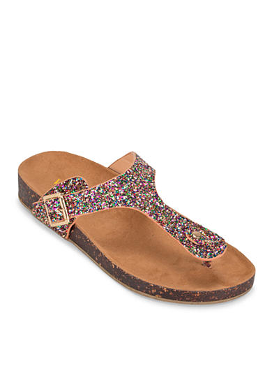 WANTED® Dino Glitter Footbed Sandal