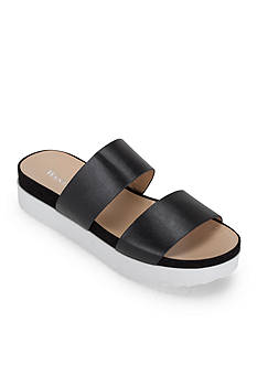 WANTED Mello Two Band Platform Sandal