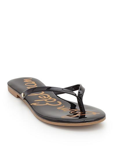 sam edelman oliver flip flop sandal belk. Black Bedroom Furniture Sets. Home Design Ideas