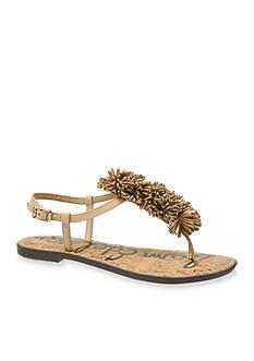 Sam Edelman Gates Pom Pom Flat Sandal