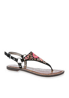 Sam Edelman Greta2 Embroidered Flat Sandal