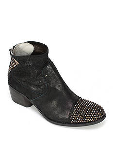 Summit White Mountain Galene Italian Metallic Leather Bootie with Stud Detail