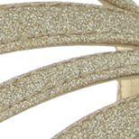 Nina: Gold Nina Neely High Heel Sandal - Online Only