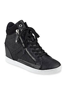 G by GUESS Damsel Wedge Lace Up Sneakers