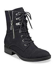G by GUESS Fleek Lace Up Combat Boot