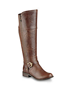 G by GUESS Hailee Buckle Harness Boot