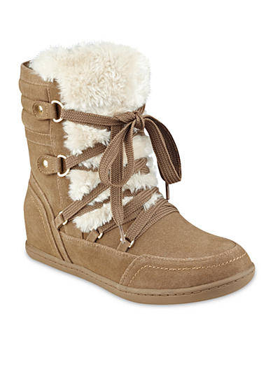 G by GUESS Ryla Faux Fur Booties