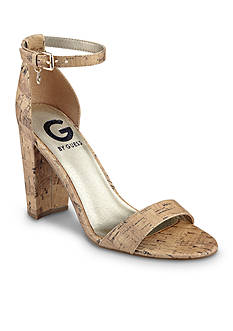 G by GUESS Shantel3 Block Heel Sandal