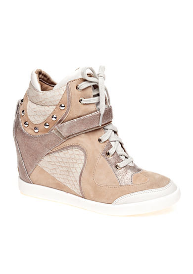 GUESS Huxley2 High Top Wedge Sneaker