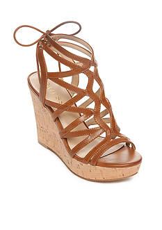 GUESS Huyana3 Cork Wedge Sandals
