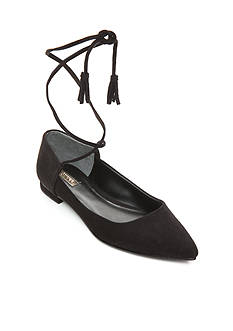 GUESS Vida Lace Up Flats