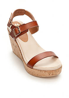 Yellow Box Copenhagen Wedge Sandal