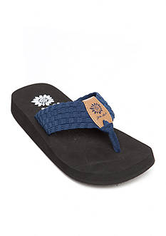 Yellow Box Soleil Stretch Flip Flop