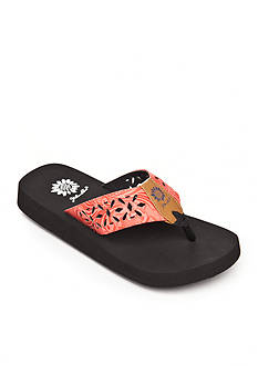 Yellow Box Delight Flip Flop