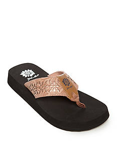Yellow Box Tranquil Cut out Flip Flop Sandal