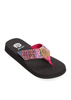 Yellow Box Andee Sequin Flip Flops