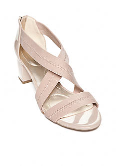 Bandolino Sholto Block Heel Stretch Sandal - Available in Extended Sizes