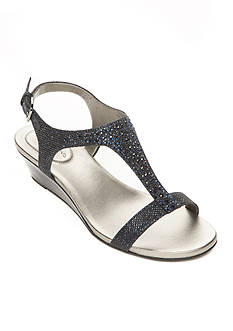 Bandolino Gruglia Glitter Sandal - Available in Extended Sizes