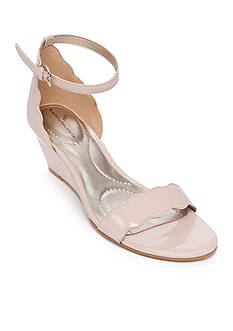 Bandolino Opali Scallop Trim Wedge Sandal