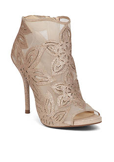 Jessica Simpson Mesh Flower Shootie