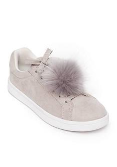 Madden Girl Baabee Pom Pom Sneakers