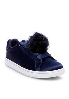 Madden Girl Baabee Pom Pom Sneaker