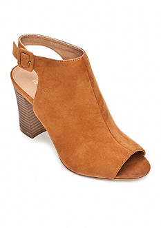 Madden Girl Beckkie Open Toe Bootie