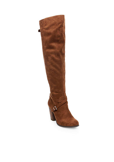 Madden Girl Dallas Over The Knee Heeled Boots