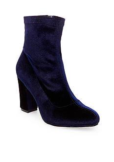 Madden Girl Fantaysa Sock Heeled Bootie