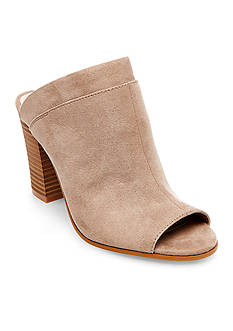 Madden Girl Norma Stacked Heel Mule