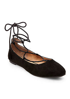 Madden Girl Spirit Lace Up Ballet Flat