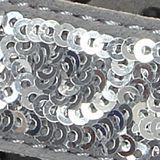 Womens Crocs: Silver / Black Crocs Capri Thong Sandal