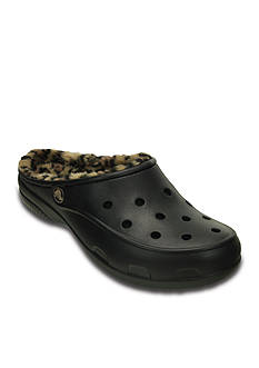 Crocs Freesail Leopard Lined Clog