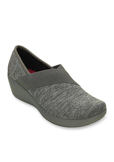 Crocs Busy Day Heathered Asymmetrical Wedge