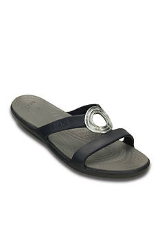 Crocs Sanrah Beveled Circle Sandal