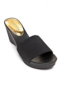 Lauren Ralph Lauren Rubina Wedge Slide