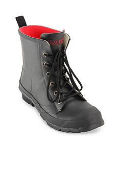 Lauren Ralph Lauren Mikenna Laceup Short Rain Boot