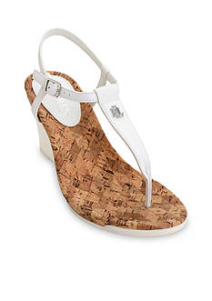 Ralph Lauren Naris Wedge Sandals