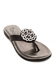 Brighton Alice Medallion Flat Sandals - Available in Extended Sizes