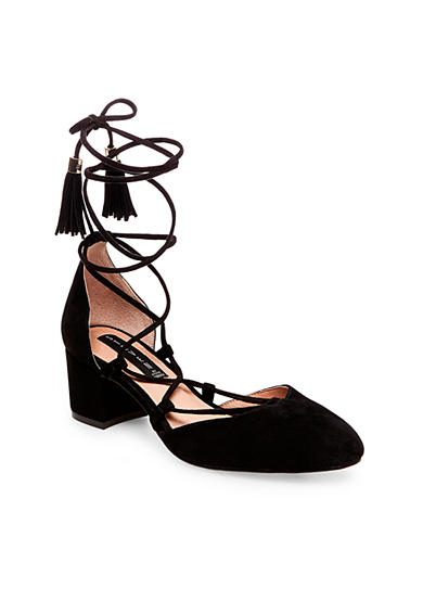 Steven Valo Lace Up Block Heel