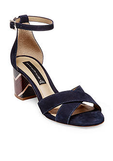 STEVEN Voommes Stacked Heel Dress Sandal