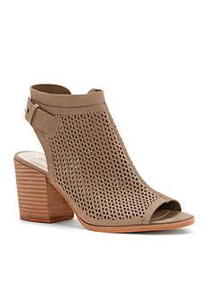 Vince Camuto Lidie Laser-Cut Block Heel Sandal