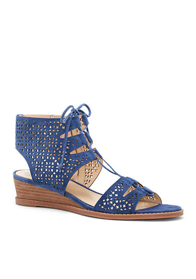 Vince Camuto Retana Lace-Up Wedge Sandals