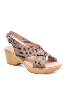 Dansko Jacinda Walnut Nubuck Sandal