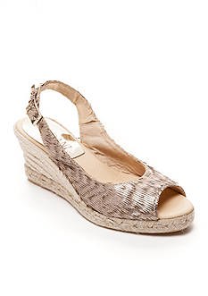 Cordani Harmony Eyelash Espadrille Wedge Sandal