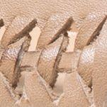 Shoes: Michael Michael Kors Women's: Dark Khaki MICHAEL Michael Kors Fulton Woven Moc Flats