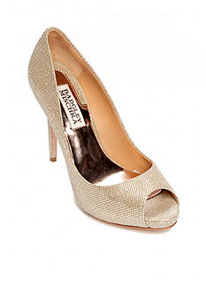 Badgley Mischka Ponderosa Peep-Toe Pump